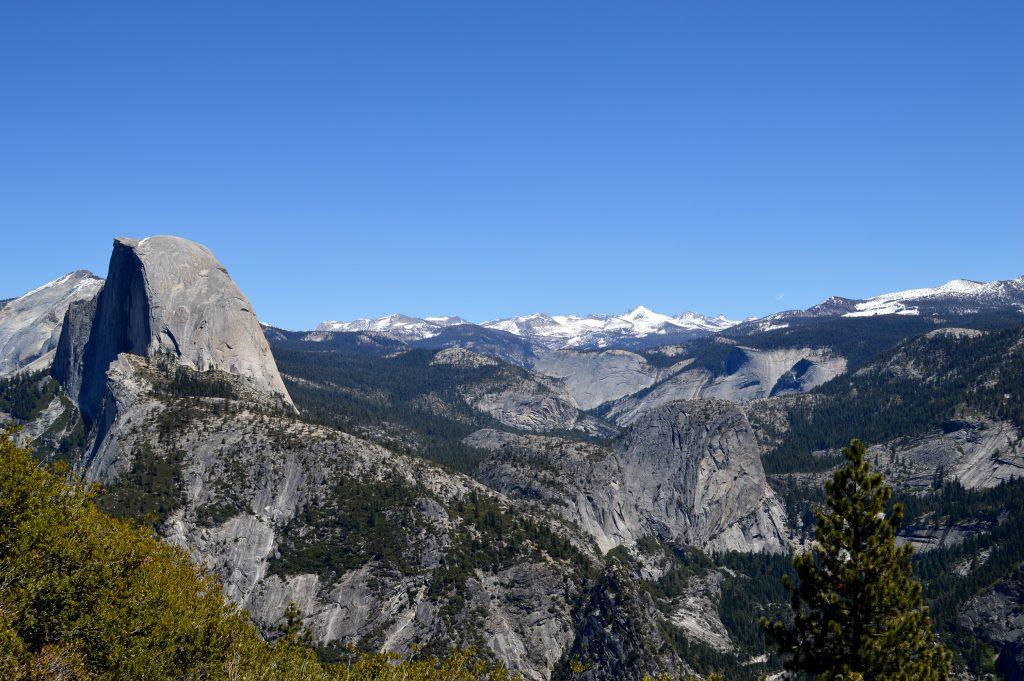 Yosemite glacier point four mile hike