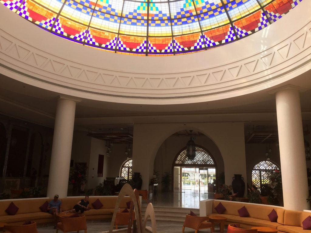 lobby Hilton Marsa Alam Nubian resort
