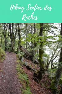 hiking Sentier des Roches