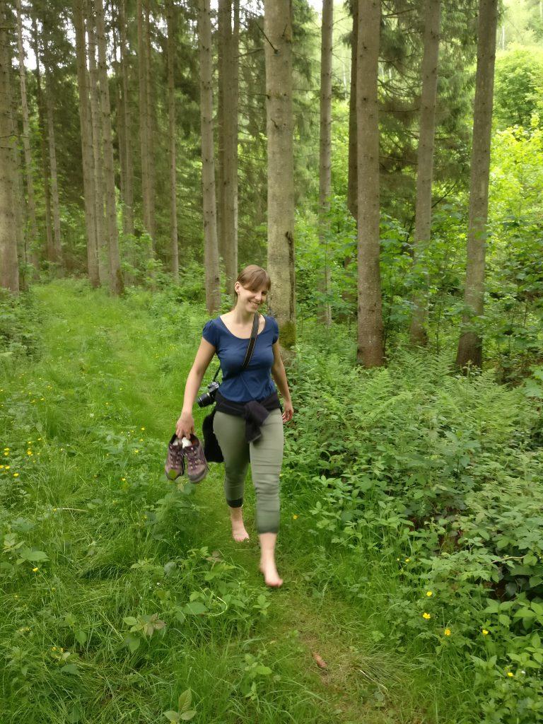 hiking Achouffe