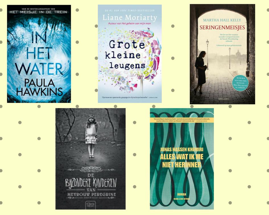 Lezen: 5 boeken om mee te nemen op vakantie