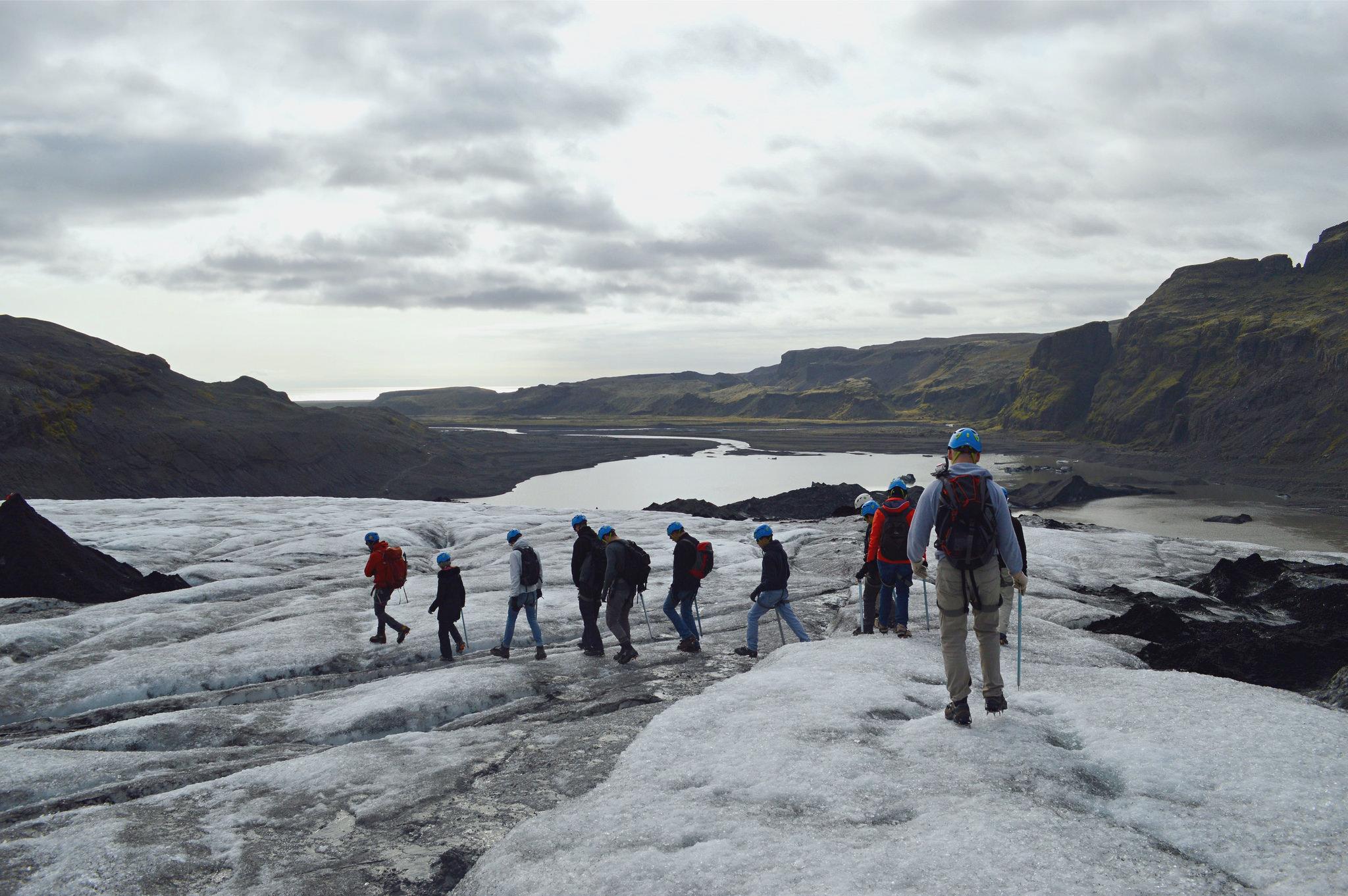 Iceland – Glacier walk with Arcanum