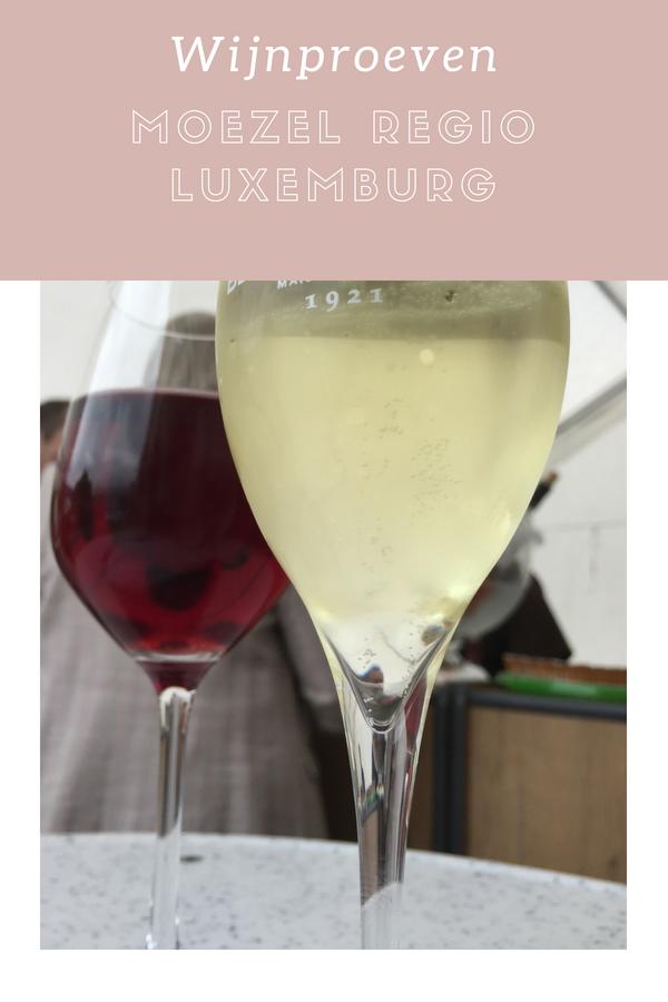 wijn proeven Moezel Luxemburg