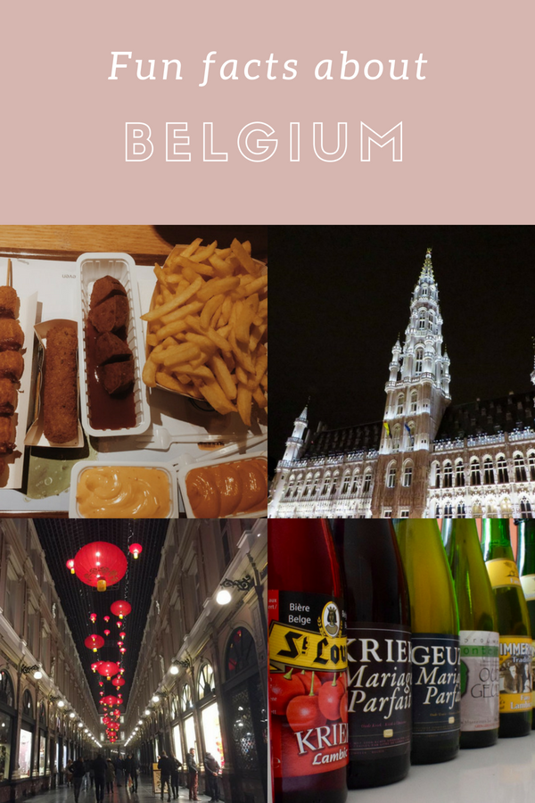 Fun facts Belgium