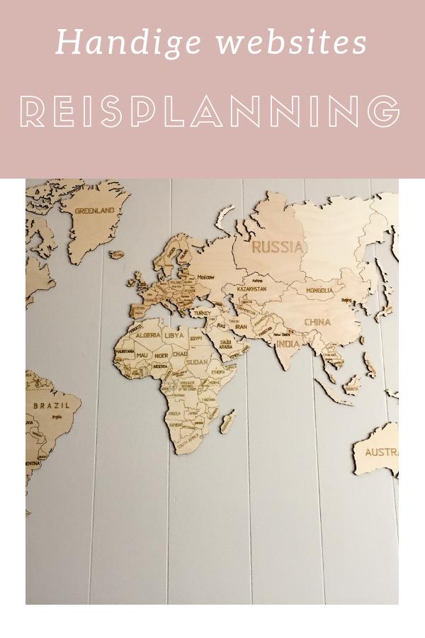 reisplannen websites