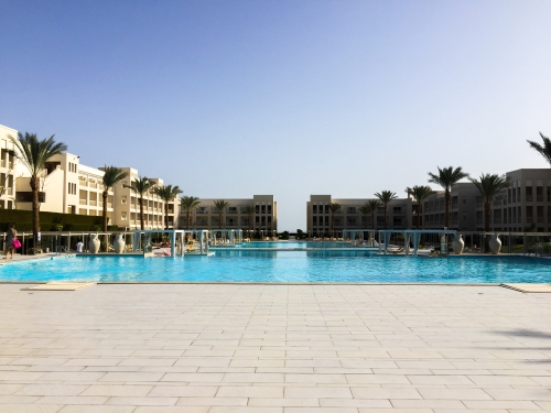 Inchecken: Jaz Aquaviva in Hurghada (Egypte)