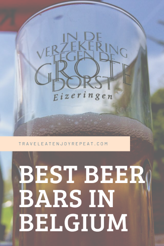 best beer bars Belgium