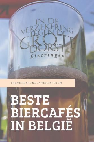 beste biercafes belgie