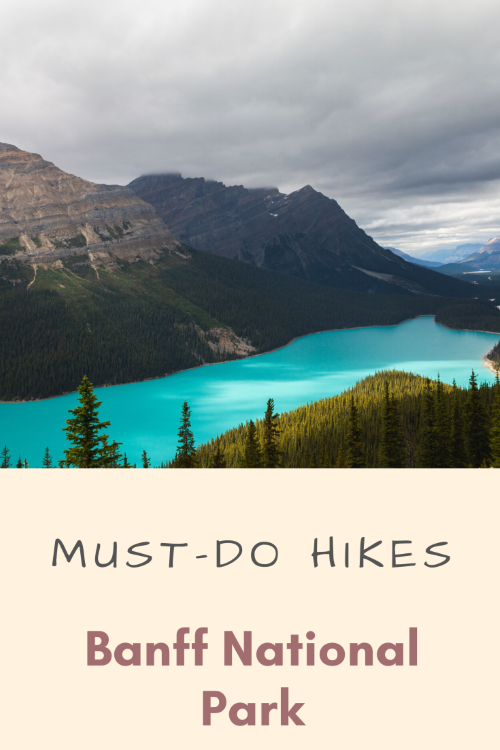 hiking Banff National Park
