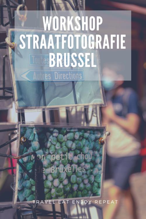 workshop straatfotografie Brussel