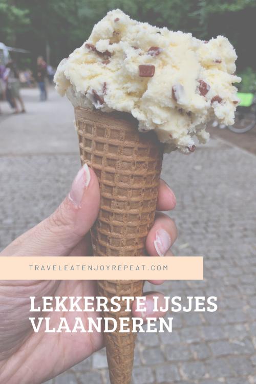 Lekkerste ijsjes Vlaanderen