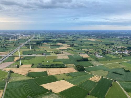 Ballonvaart boven Vlaanderen